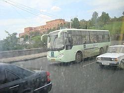 اتوبوس داخل شهری ایروان