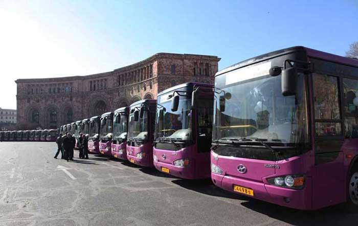 حمل و نقل داخل شهری ایروان