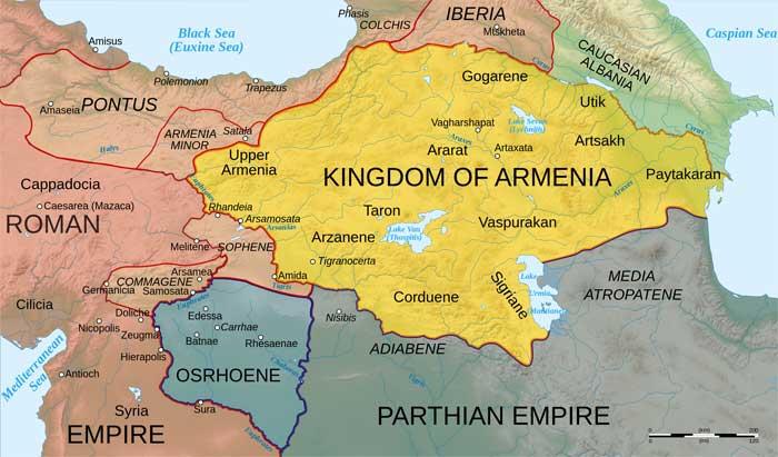 تاریخ ارمنستان History of Armenia