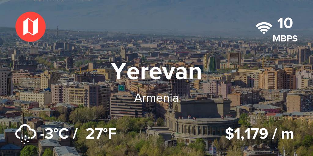 آب و هوای ارمنستان