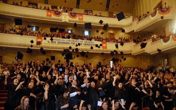 ثبت نام در دانشگاه ارمنستان