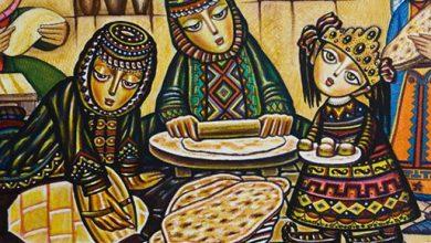 نان لواش ارمنستان