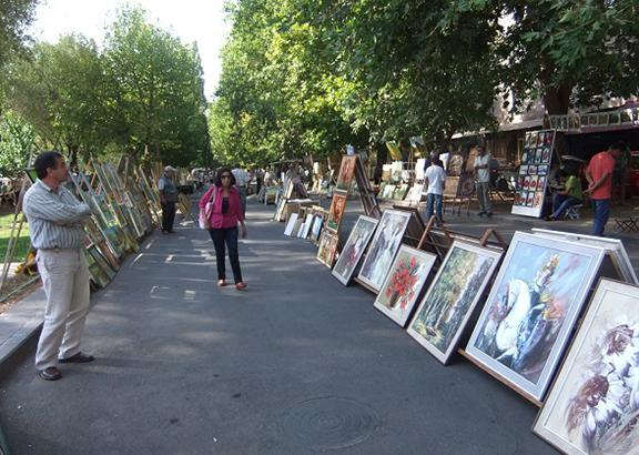 بازار ورنیساج (ورنیساژ) ایروان ارمنستان